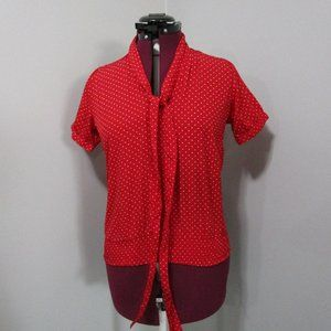 Tristan Red Top Size Small
